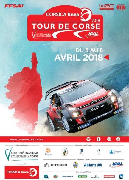 Affiche Tour de Corse 2018