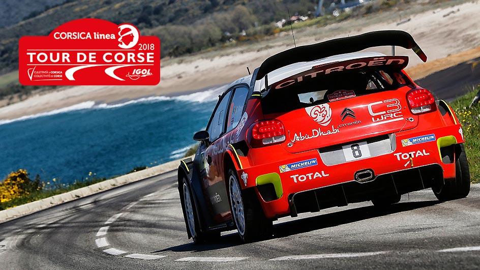 Rallye du Tour de Corse WRC 2018